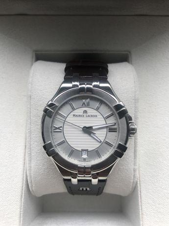 Zegarek Maurice Lacroix Aikon AI1004-SS001.130.1, nowy, pełen komplet