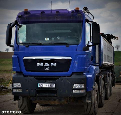 MAN TGS  Man TGS 8x4 wywrotka, mocny HDS 480KM 12419 niski przebieg
