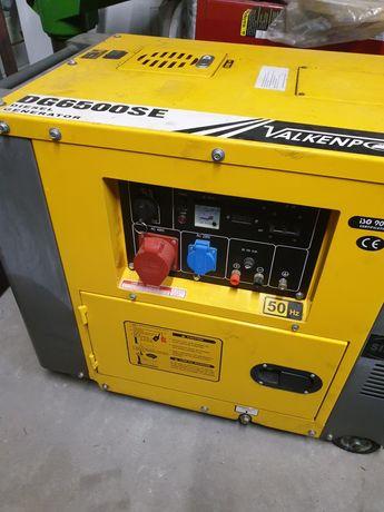 Agregat prądotwórczy ( jak nowy ) 5.5KW diesel
