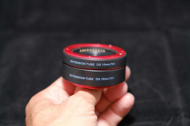 Tubo extensão macro Fujifilm AutoFoco
