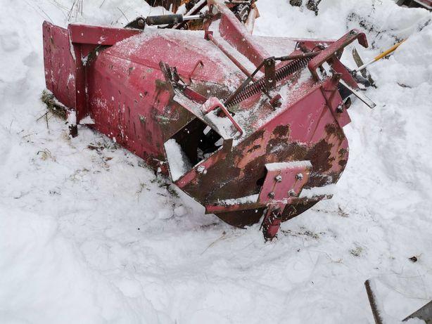 Pług wirnikowy dmuchawa do śniegu
