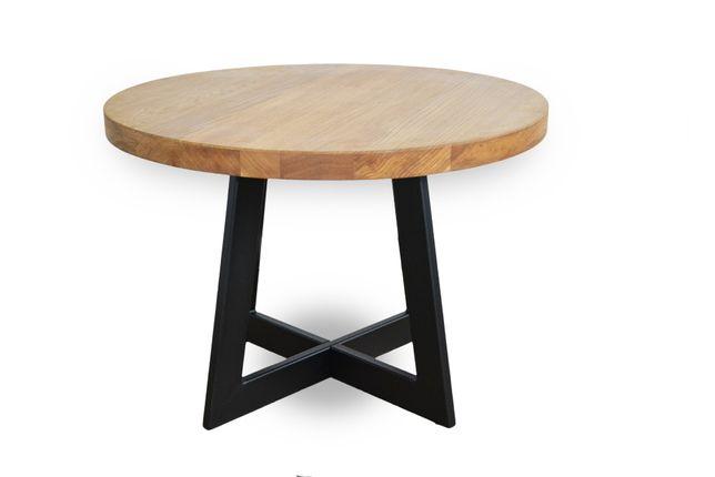 Konstrukcja do stolika nowoczena Industrial LOFT okrągły stolik ława