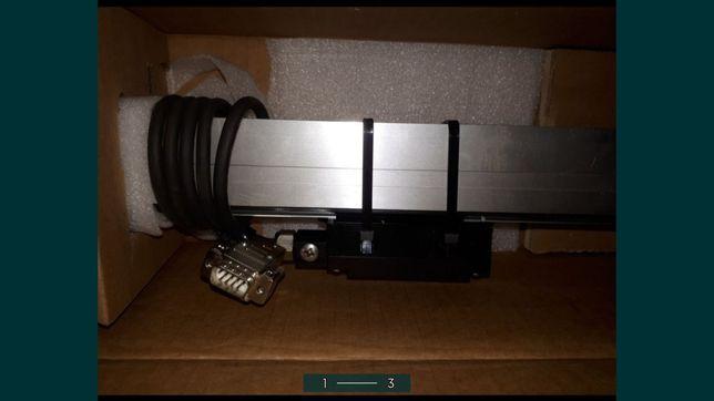 Głowica,listwa,liniał,pomiar,LS623,ML370mm