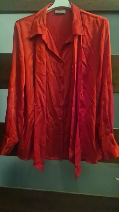 Czerwona koszula z jedwabiu Bytom - image 1