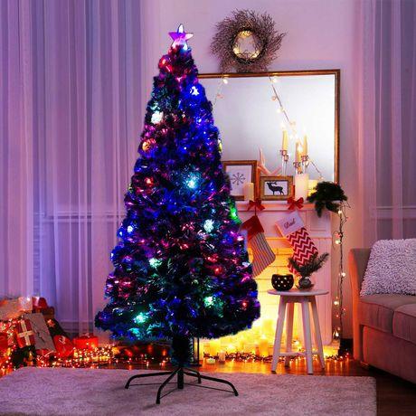 Árvore de Natal Verde PVC Φ82x180cm