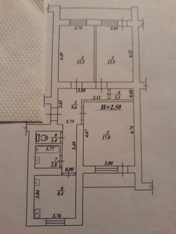 Продам 3кв.в новом доме ул.Молочная 11