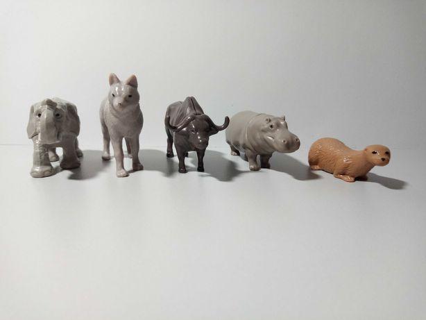 Игрушки, коллекция животных из Киндера