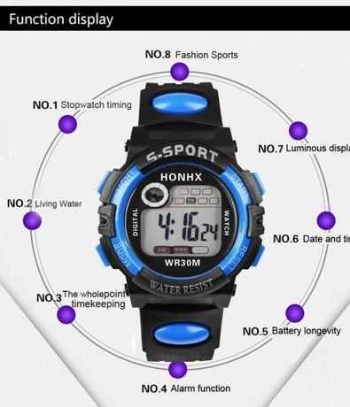 Relógio desporto multifunções