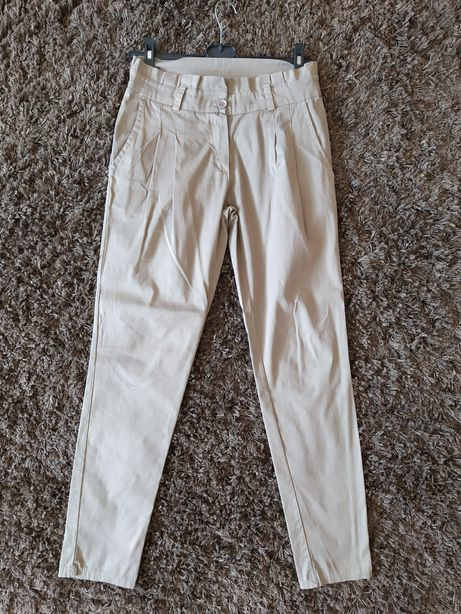 Damskie eleganckie spodnie rozmiar S