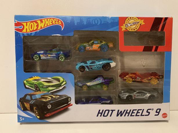 Машинки Hot Weels набор 9 штук