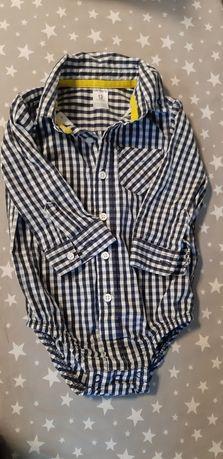 Шикарная рубашка боди carters картерс 12 месяцев