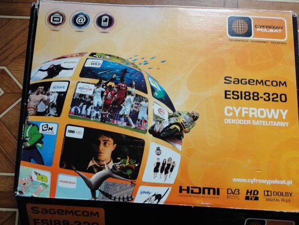 Cyfrowy Dekoder Sagemcom ESI88-320GB