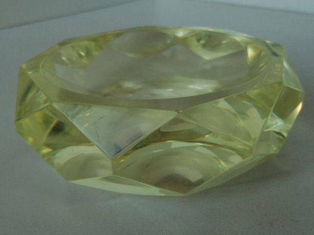 Stara popielnica kryształowa waga 1, 900 kg