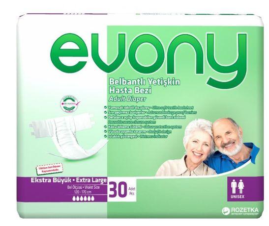 Подгузники для взрослых Evony Подгузники для взрослых 3 Large 30 шт