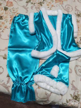 Продам новогодний костюм гномик,  помощник деда мороза на карнавал