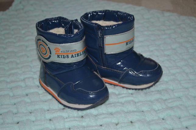 Зимние ботинки Tom.miki размер 23 отличное состояние