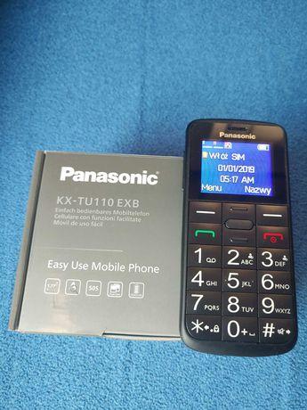 Telefon komórkowy Panasonic KX-TU110 czarny