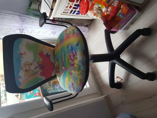 Fotel  na kółkach do biurka