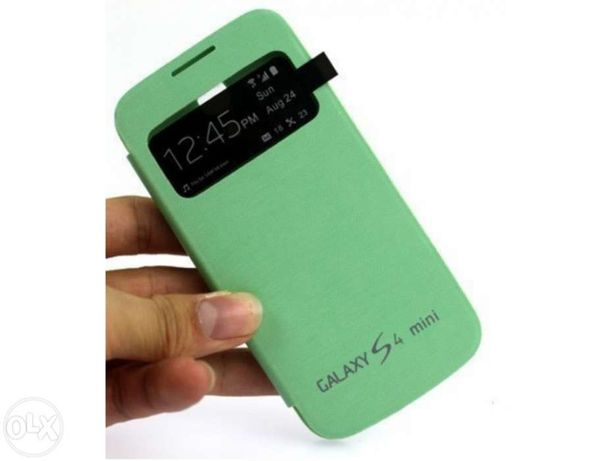Smart Flip case para Samsung Galaxy s4 mini