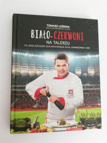 Książka kucharska Biało-czerwoni na talerzu Tomasz Leśniak