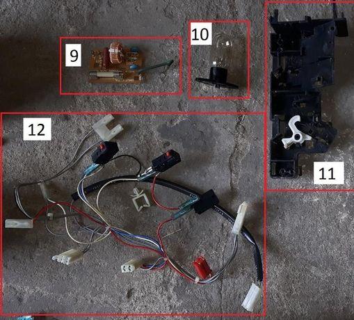 Kuchenka mikrofalowa / mikrofalówka daewoo kor-61a5 części