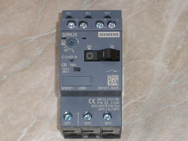 Автомат вимикач захисту електродвигуна 9-12A SIEMENS made in Germany