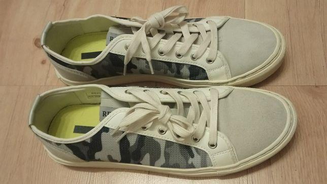 Buty oryginalne Replay skórzane tenisówki r. 44