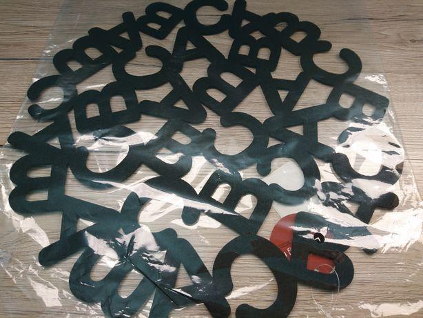 Podkładka na stół litery okrągła 35 cm filc brw nowa