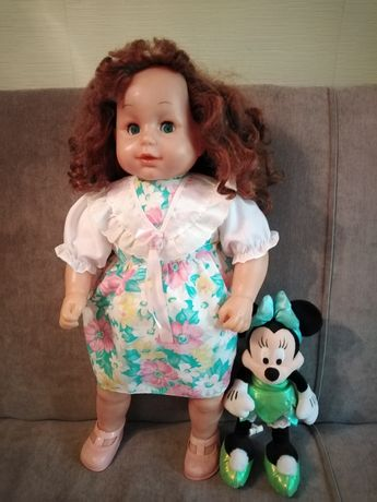 Кукла большая. Винтаж.