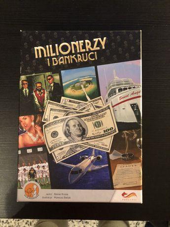 Gra planszowa dla dorosłych Milionerzy i bankruci