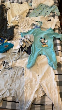Ubranka dla chłopca 50-56