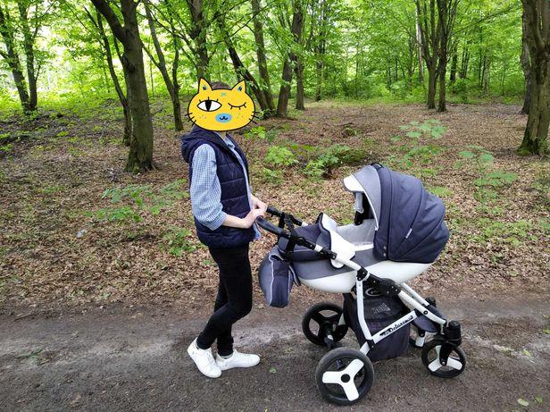 Дитяча універсальна коляска Angelina Deluxe 2 в 1