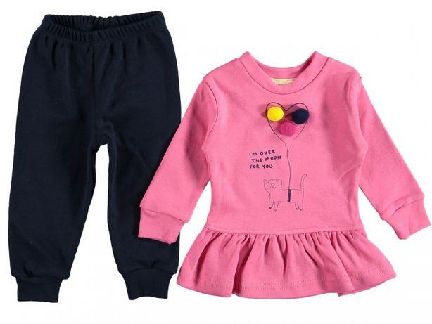 Спортивный костюм на девочку, комплект на 1-2 года, 3-4 года