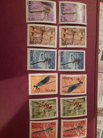 znaczki polskie czyste  i kasowane 1988 r.