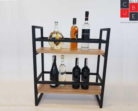 Regał uniwersalny loftowy/ Barek na alkohol