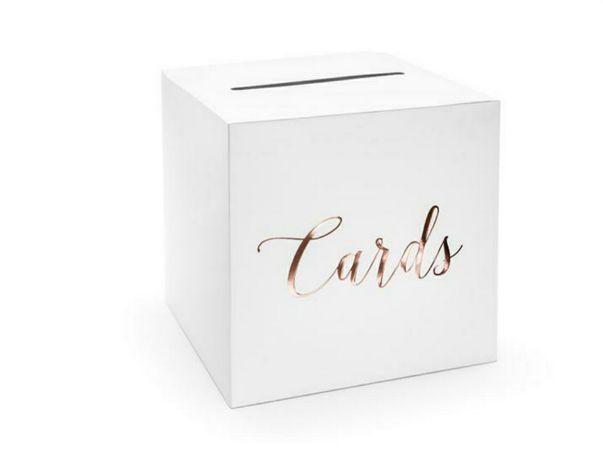 Pudełko na koperty ślub urodziny wesele dekoracje