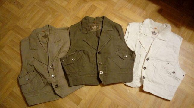Nowe kamizelki jeansowe S M L XL kamizelka