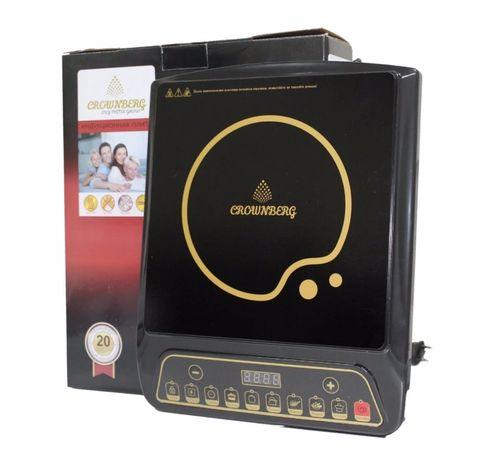 Новая плита индукционная Crownberg электроплита печь электрическая
