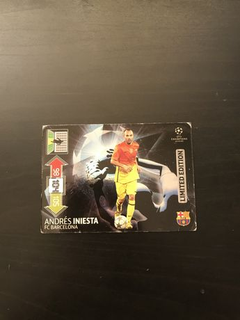 Limited edition Iniesta Champions league 2012/2013