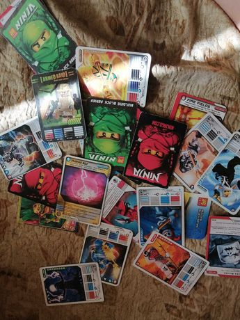 Карточки Ниндзя 23шт