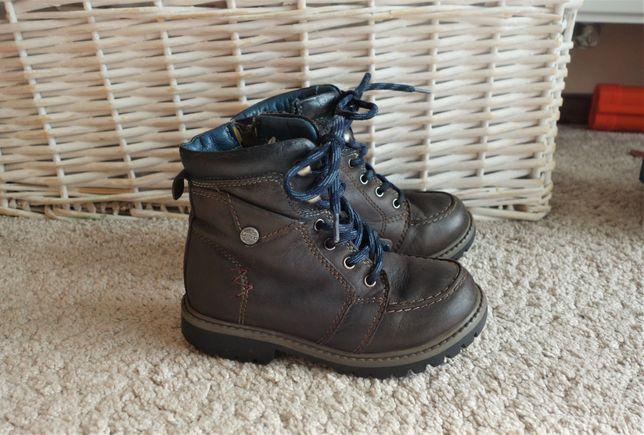 Skórzane buty przejściowe wiosenne Lasocki, trapery
