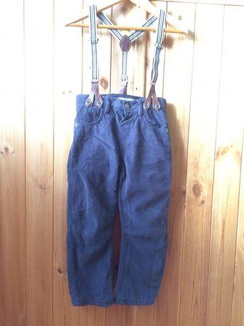 Тёплые вельветовые штаны