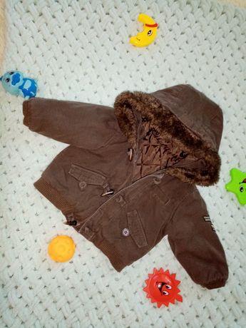 Курточка на грудничка 6-9 мес