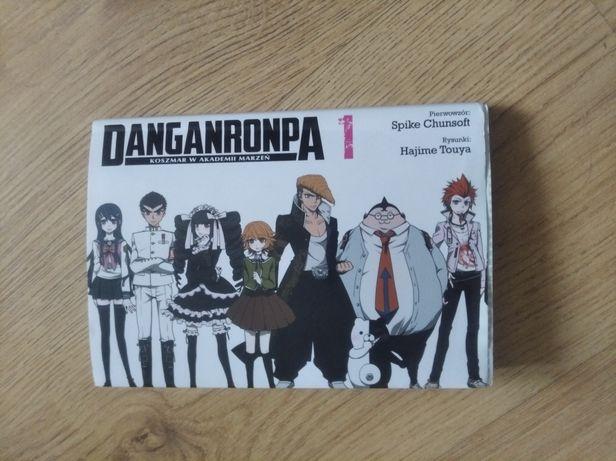 Danganronpa koszmar w akademii marzeń tom 1