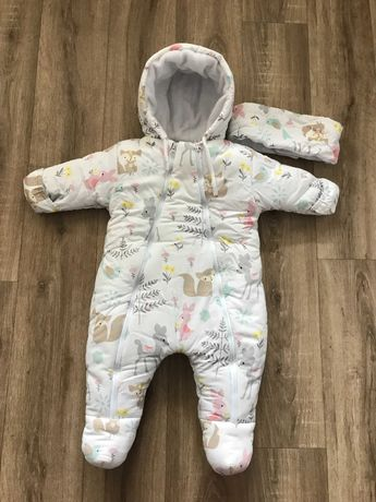 Детский зимний комбинезон 8-12 месяцев
