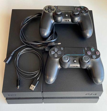Consola PlayStation 4 - PS4 1TB CUH 1216B + 2 Comandos