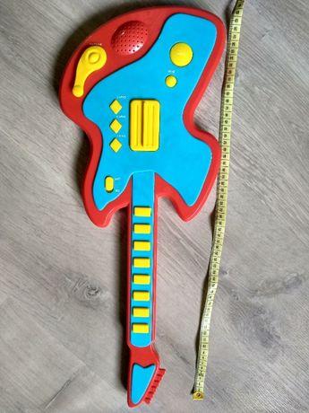 Gitara elektryczna zabawka