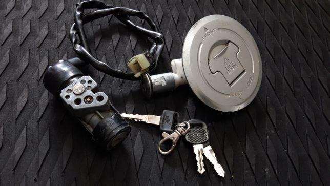 Komplet zamków Honda CBR125 (Stacyjka, Korek, Zamek)