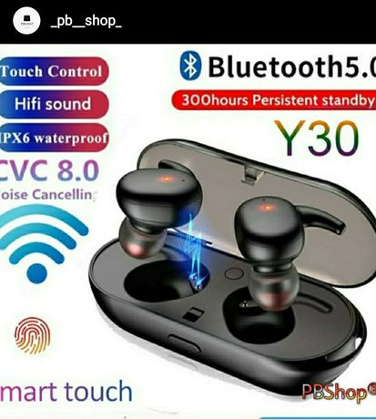 Auriculares Y30 Tecnologia Bluetooth