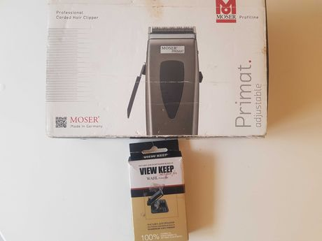 Машинка для стрижки Moser Primat 1233-0051 плюс полірування волосся